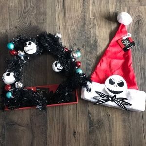 The nightmare before Christmas holiday items